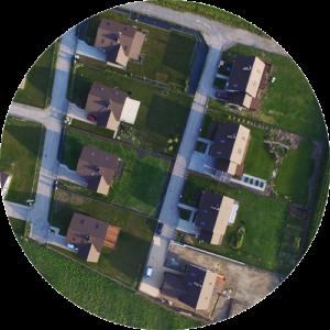 Immobilienfotografie Drohnen-Fotografie und Video